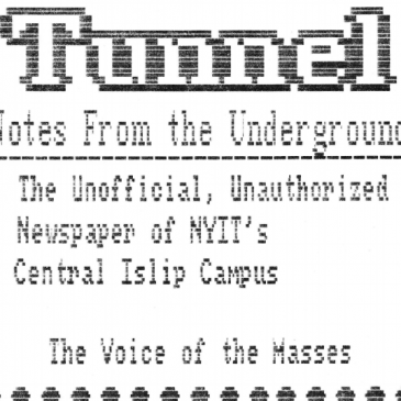 The Tunnel – Issue 1