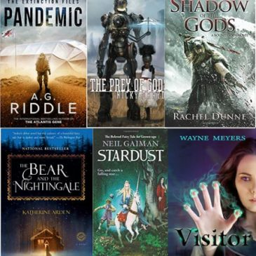 Awesome Sci-Fi /Fantasy Paperback Giveaway!