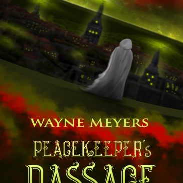 Cover Reveal: PEACEKEEPER'S PASSAGE