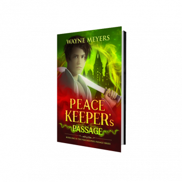 Peacekeeper's Passage NEW COVER!